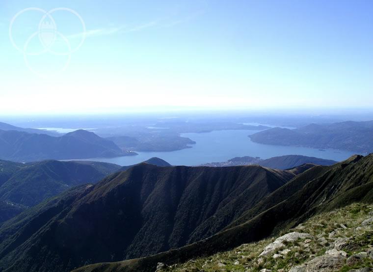 Panorama dal monte Zeda