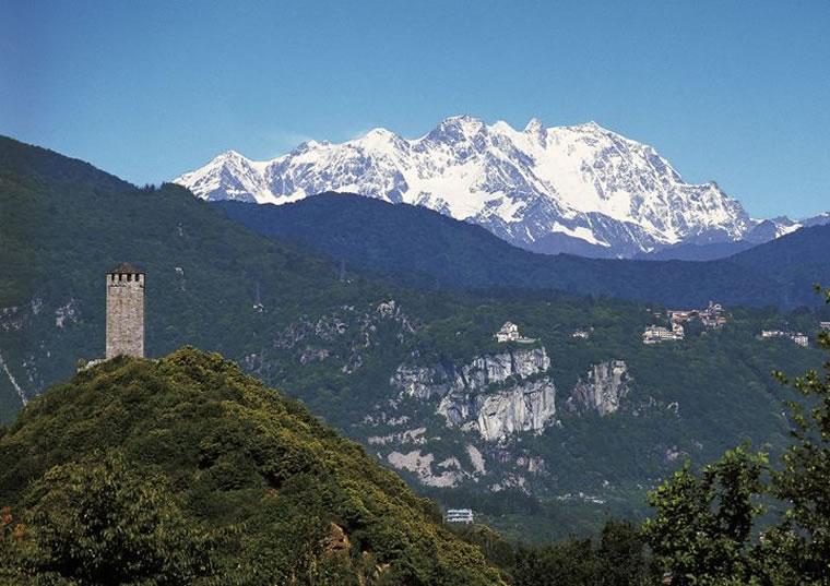 Monte Rosa dal Lago d'Orta