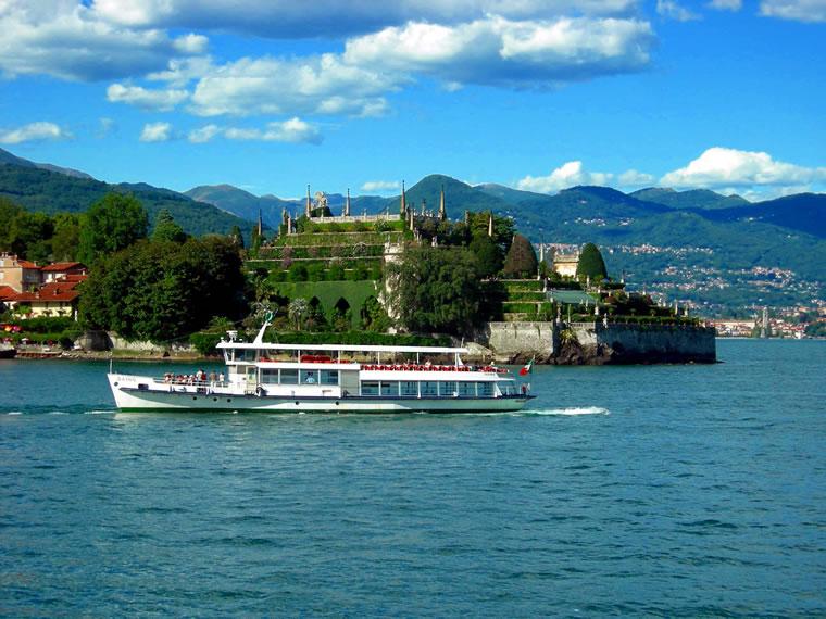 Navigazione lago Maggiore Isola Bella