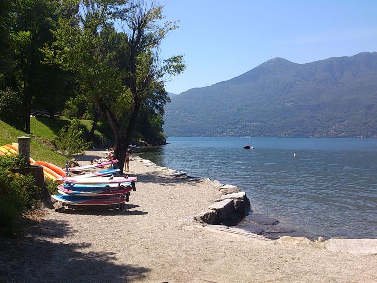 Spiagge Lago Maggiore